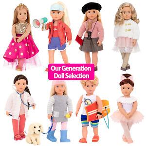 NEW OUR GENERATION DOLL - UK AUTHORISED Stockist - 18inch | 46cm Dolls