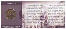 2000 RAM $1 UNC Olymphilex Canberra Mintmark