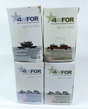 4 Stück Märklin 4MFOR LEERKARTON 48737 46966 47015 Militär Güterwagen SET box H0