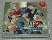 [ New ] Sega DreamCast EVE ZERO PERFECT EDITION NTSC-J Japan Factory Sealed DC