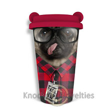 Coffee Crew - Dog Funny Novelty Coffee Tea Water Cup Bottle Carry
