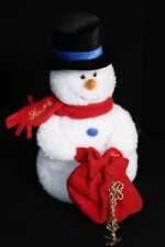 Lindt Chocolate Snowman Plush Toy Doll Mary Meyer