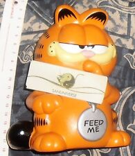 MODELLINO SALVADANAIO FIGURE MONEYBOX VINTAGE 80-GATTO GARFIELD THE CAT  isidoro