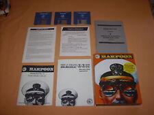 ( AMIGA ) HARPOON. CON BATTLESET 2. ITALIANO. OTTIMO. FUNZIONANTE