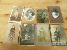 lot photos anciennes enfants 19 eme et 20 eme siecle