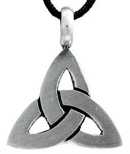 Keltenknoten Ketten Anhänger aus Zinn inkl. Band, Pewter keltischer Knoten Nr54
