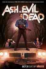 Ash vs Evil Dead Starz Horror Classic Original Tv Series Bruce Campbell Poster