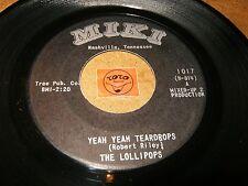 THE LOLLIPOPS - YEAH YEAH TEARDROPS - I'M SO   / LISTEN - GIRL GROUP POPCORN