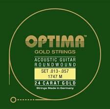 Optima 1747 M Acoustic GOLD Strings, medium 13-57