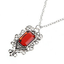 The Mortal Instruments City of Bones Isabelle Lightwood's Ruby Necklace Pendant