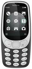 Nokia 3310 Dual SIM Ta-1030 Mobile Camera Phone Bar Charcoal Black Unlocked