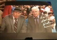 LESLIE NIELSON SIGNED 8X10 PHOTO NAKED GUN W/COA+PROOF RARE WOW