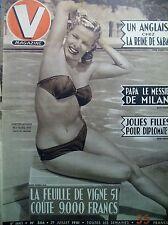 V MAGAZINE N° 356 LE BIKINI REPORTAGES ILLUSTRéS PIN-UP DESSINS JEAN DAVID