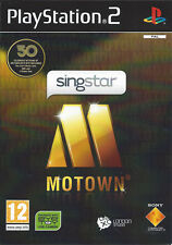 SINGSTAR MOTOWN for Playstation 2 PS2 - with box & manual - PAL