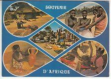 CARTE POSTALE AFRIQUE PIN UP FEMME NU NUE SOUVENIR D AFRIQUE METIER