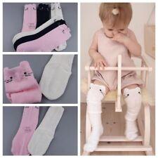 Bebés niños Medias gato rodilla de algodón calcetines  alta Medias Pierna
