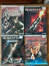 Bradygames Strategy Guides Lot of 4, Resident Evil, with Poster