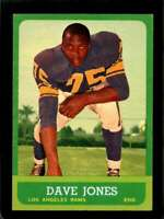 1963 TOPPS #44 DEACON JONES EX+ (RC) LA RAMS HOF NICELY CENTERED *SBA1420