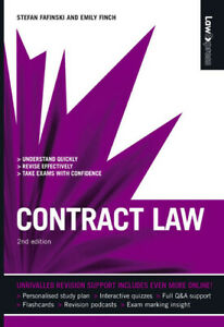 Law express: Contract law by Stefan Fafinski (Paperback / softback) Great Value
