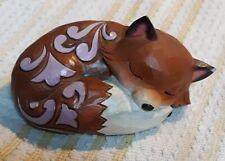 Enesco Jim Shore Mini Fox Sleeping * Animal