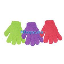New Exfoliating Shower Spa Bath Wash Skin Scrubber Massage Cleans Gloves Loofah