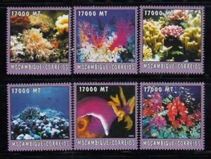 MOZAMBIQUE Corals & Reefs MNH set