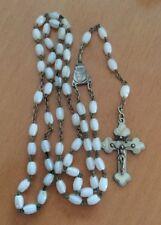 toller alter Perlmutt Rosenkranz - Rosary