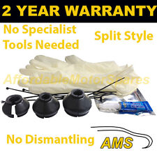 UNIVERSAL SPLIT BALL JOINT TRACK ROD END RUBBER BOOT GAITER KIT FITS ALL CARS