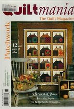 Quiltmania - the Quilt Magazine - French Patchwork Magazine (in English) - No 85
