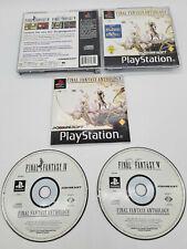 Final Fantasy Anthology (Sony PlayStation 1, 2002) Sammlungsauflösung CIB TOP