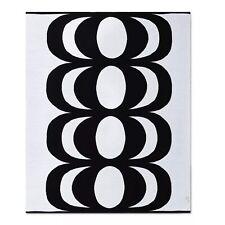 "Marimekko for Target 60""x50"" Throw Blanket White/Black"
