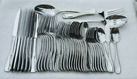 Oneida VOSS Stainless Flatware 40 Pieces Knives Forks Spoons