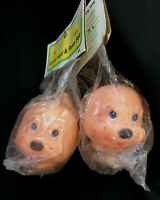 Vintage Fibre-Craft Animal Head & Paws for Dog (or other),New Old Stock, 2 sets