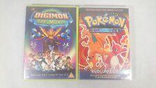 Digimon - The Movie & Pokemon Chronicles Volume 1 - 2 x DVD's