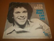 "LEO SAYER "" MORE THAN I CAN SAY "" 7"" SINGLE 1980 EXCELLENT (NETHERLANDS)"