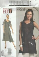 Vogue Patterns V1101 Misses' Tunic and Dress, All Sizes. Delivery