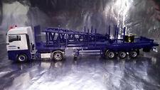 * Herpa 307222 MAN TGX XLX 6c flatbed semitrailer with end piece for Liebherr LR