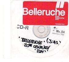 (FT722) Belleruche, 20th Century Boy - DJ CD