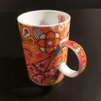 Tasse muge bol porcelaine SIGNES GRISMALT art déco nouveau contemporain N4615