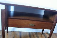 Vintage Retro Teak Coffee Table floating legs undershelf/drawer *Can deliver