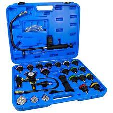 27 Tlg. Kühlsystem Tester Set Kühler Abdrückgerät Kühler Drucktester Prüfgerät