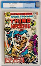 Marvel Two-In-One #15 (May 1976, Marvel) CGC 9.8 NM/MT The Thing and Morbius