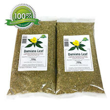 Damiana Leaf - Leaves 200g - Aphrodisiac and sexual boost - Herbal Tea