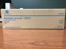 Genuine Konica Minolta Yellow Toner Cartridge Bizhub C30P C31P TN313Y  A06V234