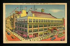 Sports Stadium postcard New York NY, Madison Square Garden
