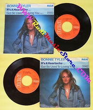 LP 45 7'' BONNIE TYLER It's a heartache Got so used to loving you no cd mc dvd