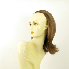 DT Half wig HairPiece extensions light brown golden 15.7  REF :18/12
