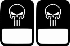 JeepTails Light Covers Compatible with Jeep Gladiator (non-LED) - Punisher