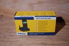 TELEPHONE SANS FIL marque TOP COM modèle DECT BUTLER 2500 neuf en boite