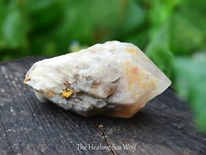 Magnificent Candle Quartz Point 100 grams! Raw Energy / Soul Healing / Starseed